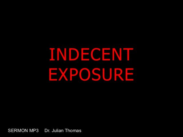 Indecent Exposure Image